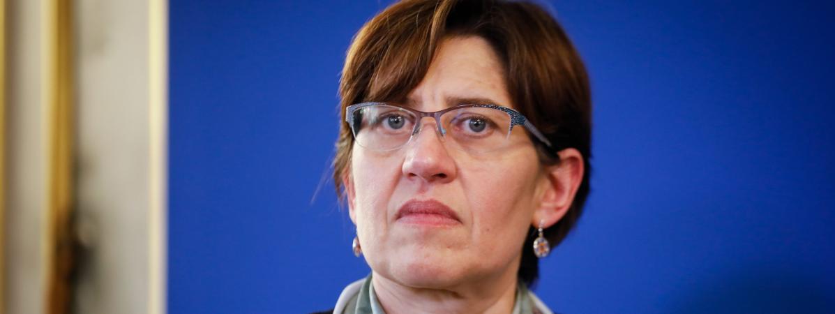 La climatologue Valérie Masson-Delmotte, à Paris, le 20 décembre 2018.