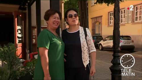Haut-Rhin : les touristes chinois fans du Bistrot des lavandières de Colmar