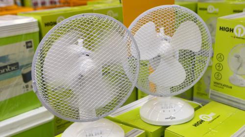 Canicule : forte hausse des ventes de ventilateurs et climatiseurs