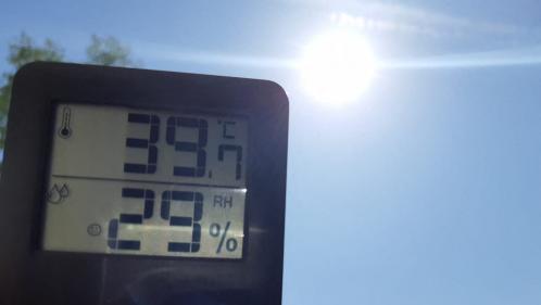 DIRECT. Canicule : jusqu'à 41 °C attendus mercredi après-midi, plusieurs records locaux de chaleur battus