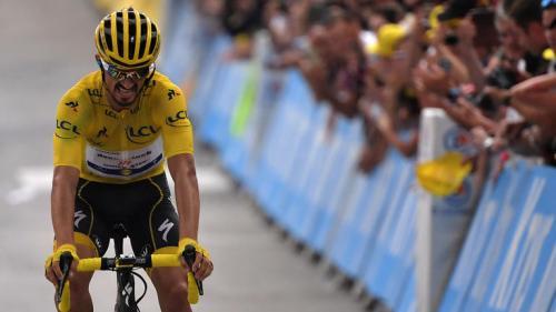 """Tour de France 2019 : Julian Alaphilippe se dit """"touché, mais pas coulé"""""""