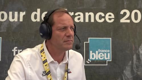 "VIDEO. Tour de France : Christian Prudhomme ""vit un Tour emballant"" où ""tout est possible"""