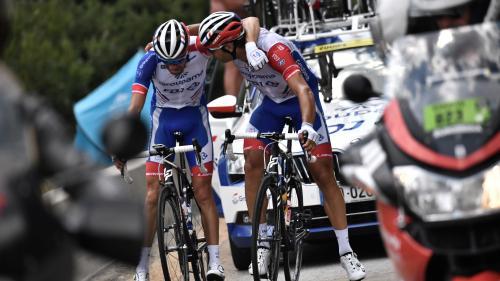VIDEO. Tour de France : les images de l'abandon de Thibaut Pinot dès le début de la 19e étape