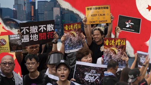 """GRAND FORMAT. """"Nous perdons nos libertés"""" : ces habitants de Hong Kong se battent pour préserver leur identité face à la Chine"""