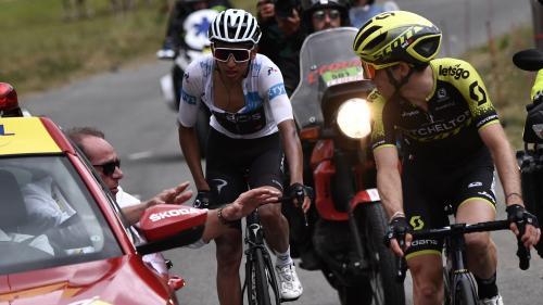 DIRECT. Tour de France : Egan Bernal s'empare du maillot jaune aux dépens de Julian Alaphilippe après l'arrêt de la 19e étape
