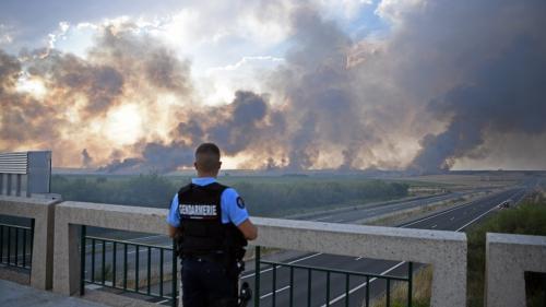 Canicule : plusieurs incendies dans l'Eure, la Marne et en Dordogne à cause des fortes chaleurs