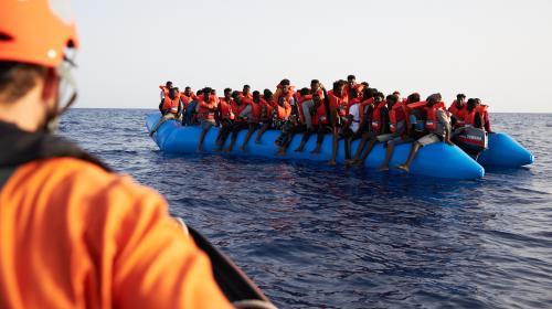 """Migrants en Méditerranée : """"La balle est dans le camp des politiques, et pour l'instant le résultat n'est pas flagrant"""""""