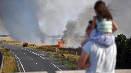 Eure : 1440 hectares de terres cultivées et de forêts ont brûlé, une situation inédite pour le département