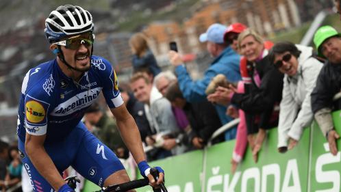 """Julian Alaphilippe élu """"super combatif"""" du Tour de France 2019"""