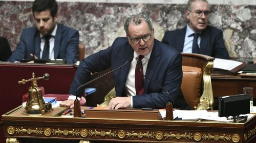 """Affaire Rugy : Richard Ferrand dénonce """"cette pression qui s'installe à partir d'accusations"""""""