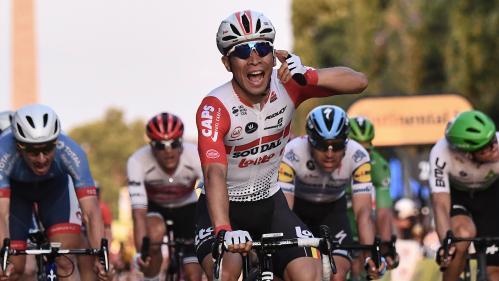 VIDEO. Tour de France 2019 : l'Australien Caleb Ewan s'impose au sprint sur les Champs-Élysées