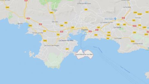 Un important incendie est en cours à Saint-Mandrier, près de Toulon, des habitations évacuées