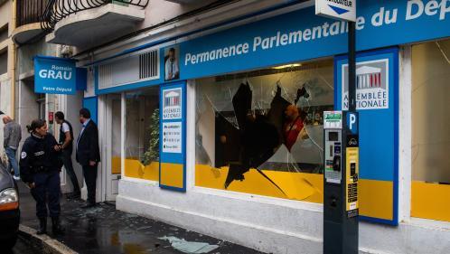 """""""On travaille dans un contexte de menaces"""" : les députés LREM inquiets après de nouvelles attaques de permanences"""