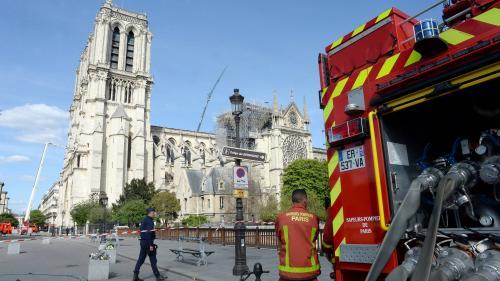 """Plomb autour de Notre-Dame : """"Nous attendons un suivi renforcé pour les agents exposés"""", réclame un syndicat de pompiers"""
