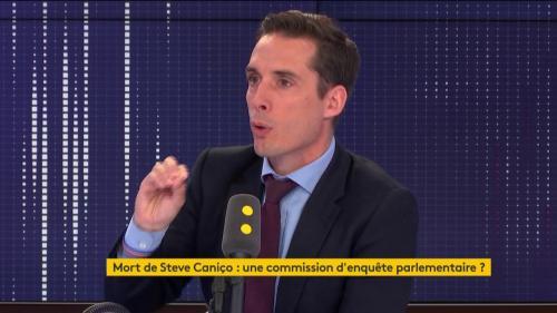 """Mort de Steve Maia Caniço : """"Le pays n'a pas besoin de suspicions permanentes"""", déclare le député LREM Jean-Baptiste Djebbari"""