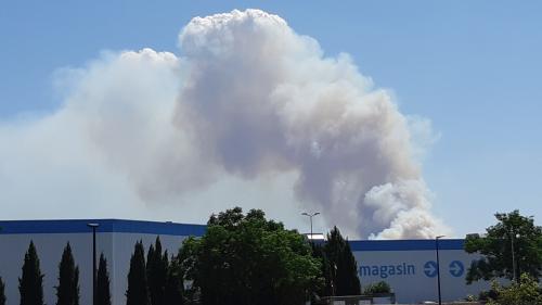 Gard : trois nouveaux départs de feu près de Nîmes, dont un à Générac