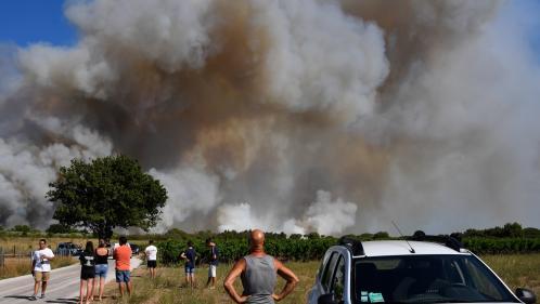 """""""Les feux à Générac et à Vauvert ne sont pas fixés, il est stabilisé à Montignargues"""", annonce le porte-parole des pompiers du Gard"""