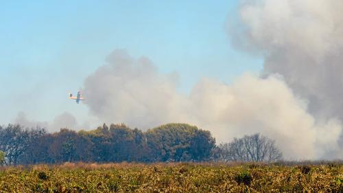 """Pilote décédé dans le crash d'un bombardier d'eau : """"Tout le corps des sapeurs-pompiers est meurtri"""", assure leur porte-parole"""