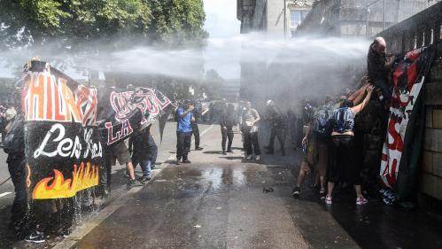 EN IMAGES. Mort de Steve Maia Caniço : de l'hommage silencieux au rassemblement violent, une journée sous tension à Nantes