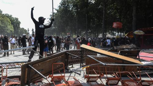 Nantes : une vingtaine de personnes interpellées lors de la manifestation contre les violences policières