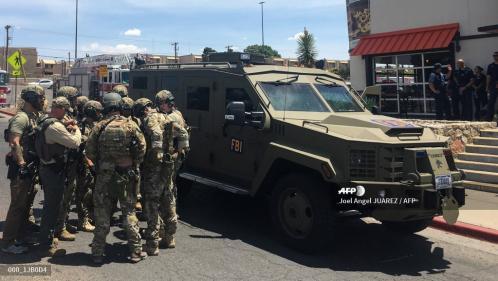 """Etats-Unis : une fusillade fait """"plusieurs morts"""" dans un centre commercial d'El Paso"""