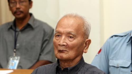 Cambodge : Nuon Chea, ancien dirigeant khmer rouge et bras droit de Pol Pot, est mort