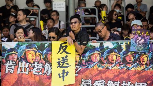 """Hong Kong : """"Cette grève contre Pékin est absolument inédite"""""""