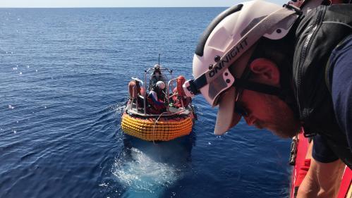 """Décret ciblant les navires humanitaires : """"L'Union européenne regarde l'Italie et ne fait rien"""", affirme France Terre d'Asile"""