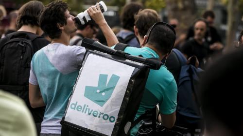 """Grève des livreurs Deliveroo: un mouvement """"très peu répandu et assez peu représentatif"""""""