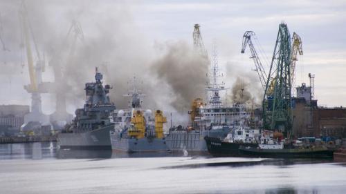 Russie : une explosion sur une base militaire du Grand Nord fait cinq morts