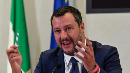 """Italie : Matteo Salvini réclame des élections anticipées le plus """"rapidement"""" possible"""