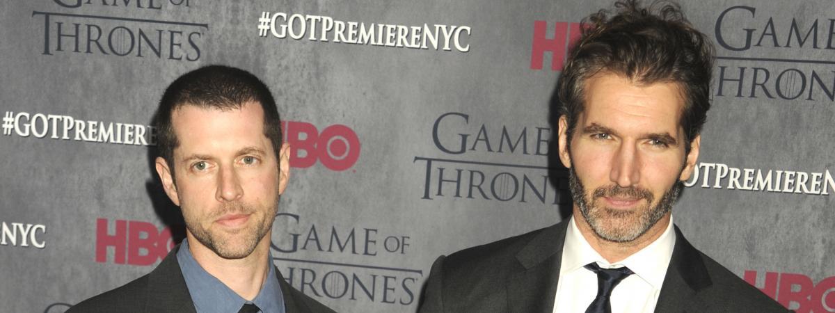 """Les créateurs de """"Game of Thrones"""" signent un accord avec Netflix"""