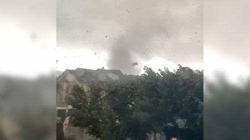 Orages : une tornade à la frontière franco-luxembourgeoise fait de gros dégâts