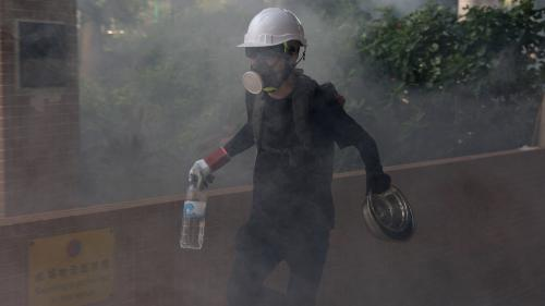 """""""Nous devons devenir plus agressifs"""" : unjeune Hongkongais raconte comment ils'est radicalisé lors des manifestations"""