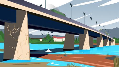 Age, défauts, entretien... Découvrez l'état des ponts routiers français en trois infographies