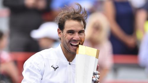 Tennis : Nadal couronné au Masters 1000 de Montréal après sa victoire face à Medvedev