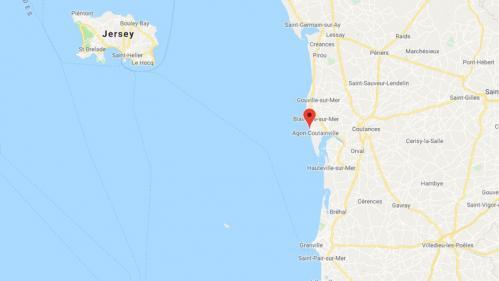 Manche : trois enfants sont morts dans l'accident d'une vedette de plaisance au large d'Agon-Coutainville