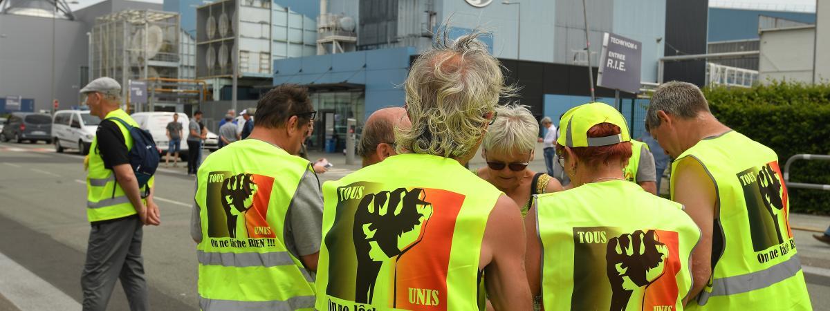 Une journée de mobilisation pour General Electric à Belfort