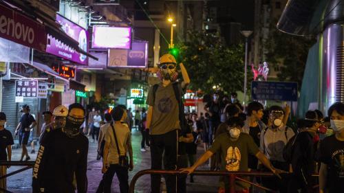 EN IMAGES. Hong Kong : comment le bras de fer s'est intensifié entre manifestants et forces de l'ordre