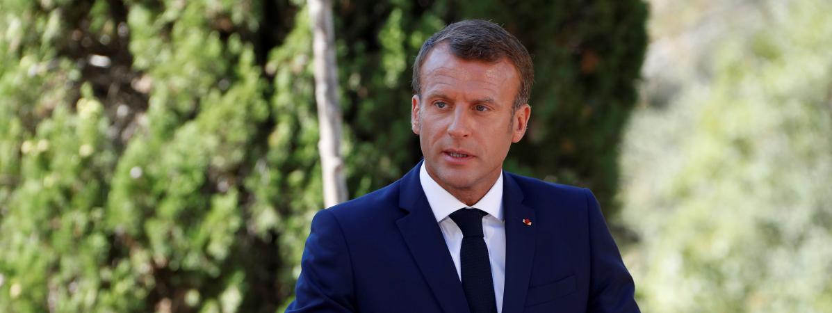 Macron appelle à renommer des rues en hommage aux soldats africains de l'armée française qui ont participé ...