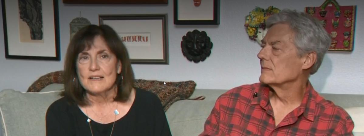 Cinquante ans après, un couple retrouve une photo d'eux prise à Woodstock lors de leur première rencontre