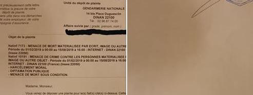 """Le """"gilet jaune"""" Maxime Nicolle, alias Fly Rider, a porté plainte notamment pour """"menace de mort"""" sur les r..."""