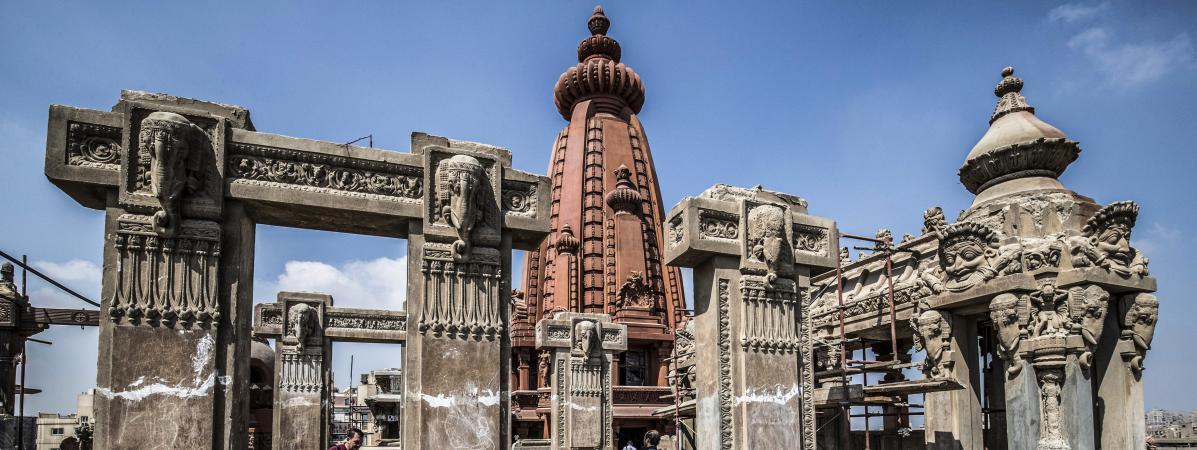 Le Caire défend le chantier de restauration du palais du baron Empain, en proie à une polémique
