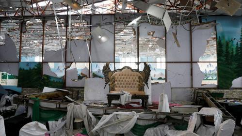 Afghanistan : un kamikaze tue au moins 63 personnes lors d'un mariage à Kaboul