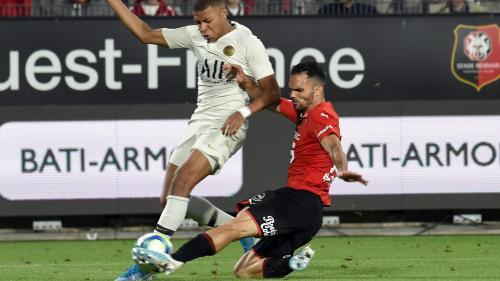 Ligue 1 : le PSG s'incline 2-1 à Rennes, premier coup de tonnerre de la saison