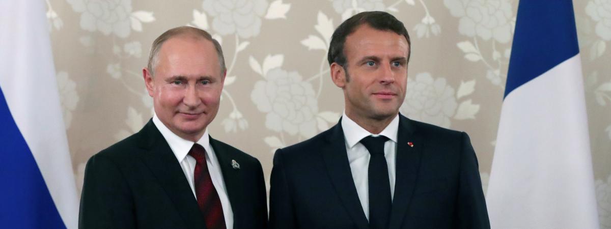 #POUTINE On en sait un peu plus sur le déroulé de la rencontre entre Emmanuel Macron et Vladimir Poutine au...