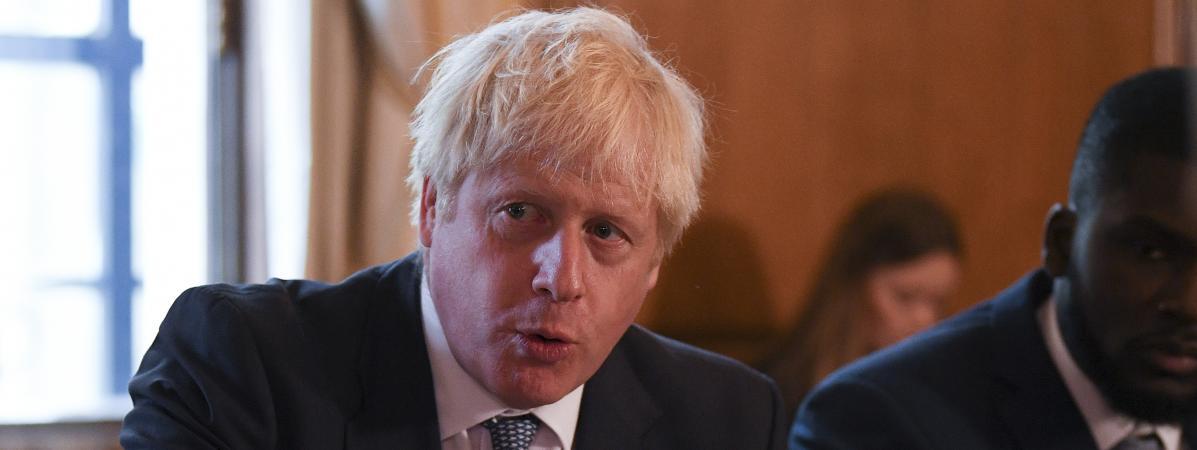 Boris Johnson annonce que le Royaume-Uni stoppera la libre circulation des personnes le 31 octobre en cas d...