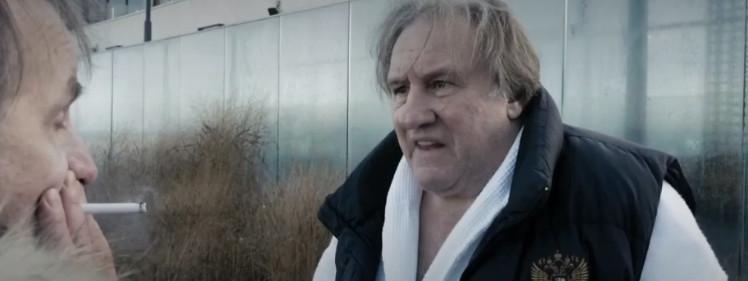 """Cinéma : Gérard Depardieu et Michel Houellebecq réunis dans la comédie loufoque """"Thalasso"""""""