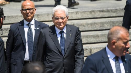 DIRECT. Crise en Italie : le président de la République Sergio Mattarella recevra les chefs de parti dès mercredi