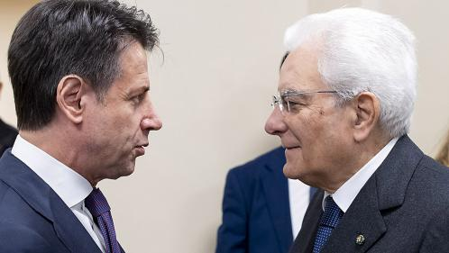 Crise en Italie : le Premier ministre Giuseppe Conte a officiellement remis sa démission au président